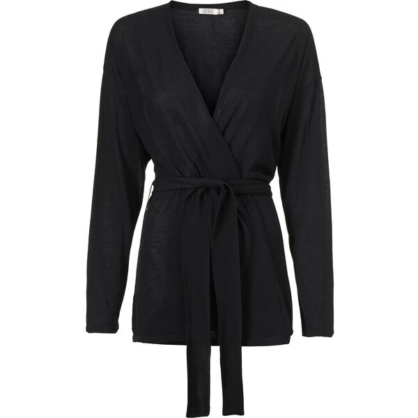 LATIFA CARDIGAN, BLACK, hi-res