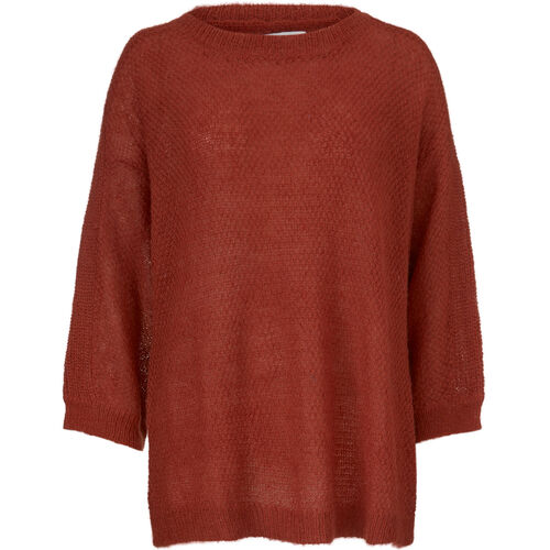 FLORIS TOP, RED OCHRE, hi-res