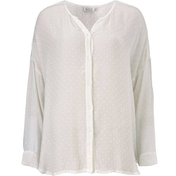 IDALIA BLUSE, CREAM, hi-res