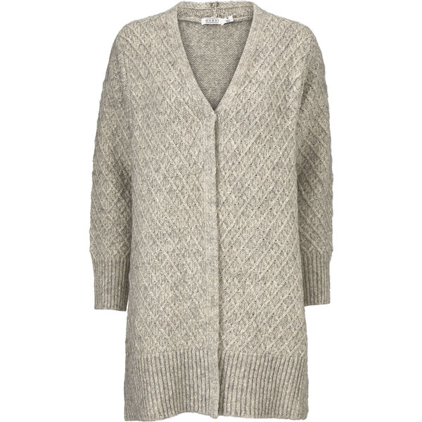 LOREN CARDIGAN, LIGHT GREY MELANGE, hi-res