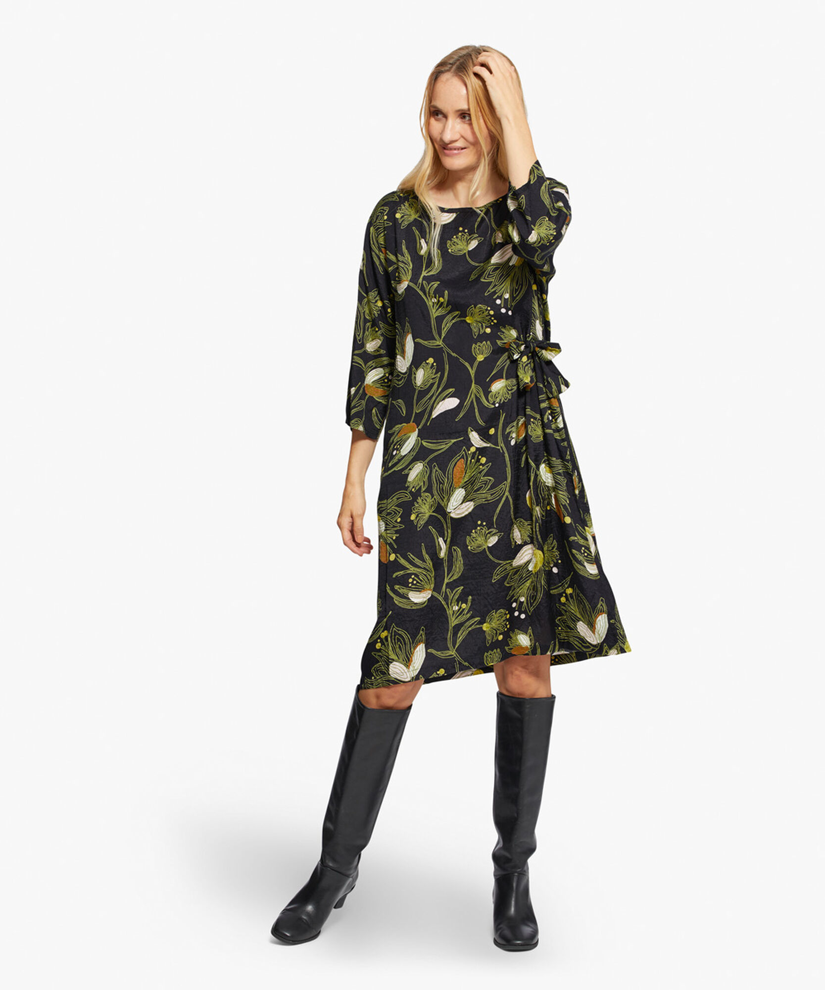 NONIE KLEID, Green Sheen, hi-res