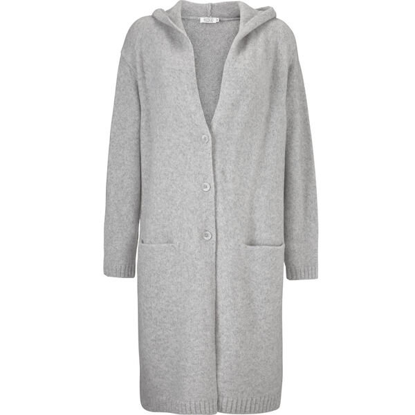 LOTTI CARDIGAN, L GREY MEL, hi-res