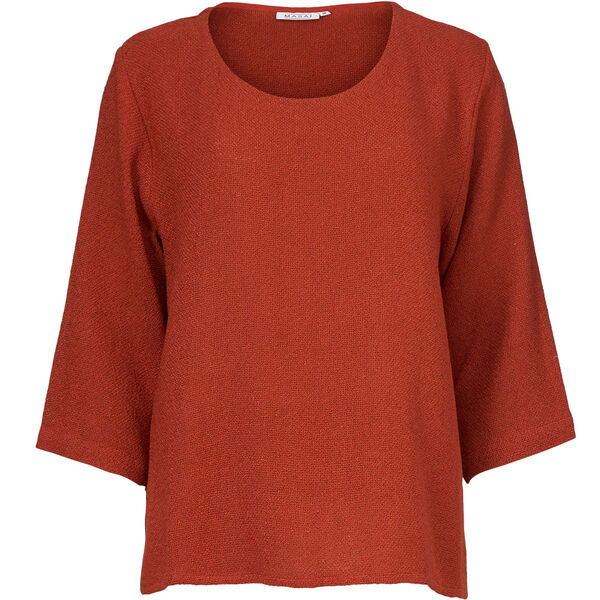 BANUNI TOP, RED OCHRE, hi-res