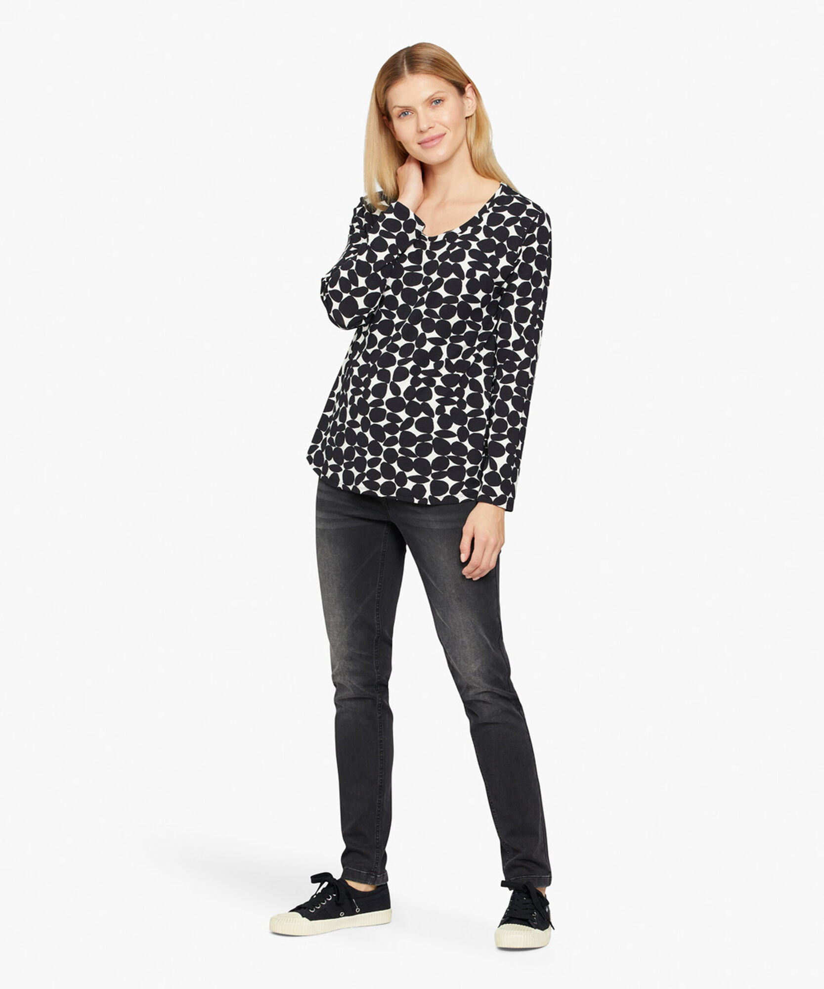 BADISNA SHIRT, Black, hi-res