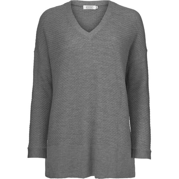 FIFI TOP, GREY MELANGE, hi-res